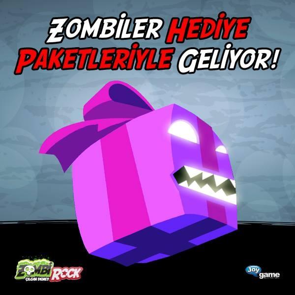 Zombiler Paketleriyle Geliyor. #ZombiRock #Zombie #Zombi #mmoaction #Zombioyunları