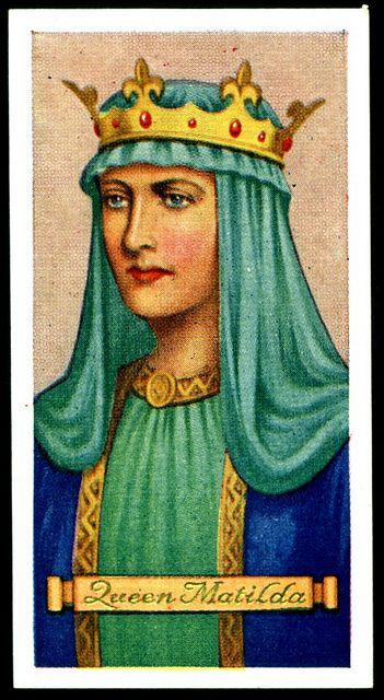 Cigarette Card - Queen Matilda | Flickr