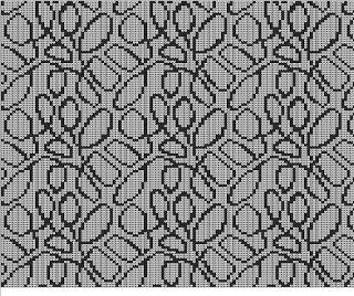 En stickmanikers loggbok: Ytmönster  charted design