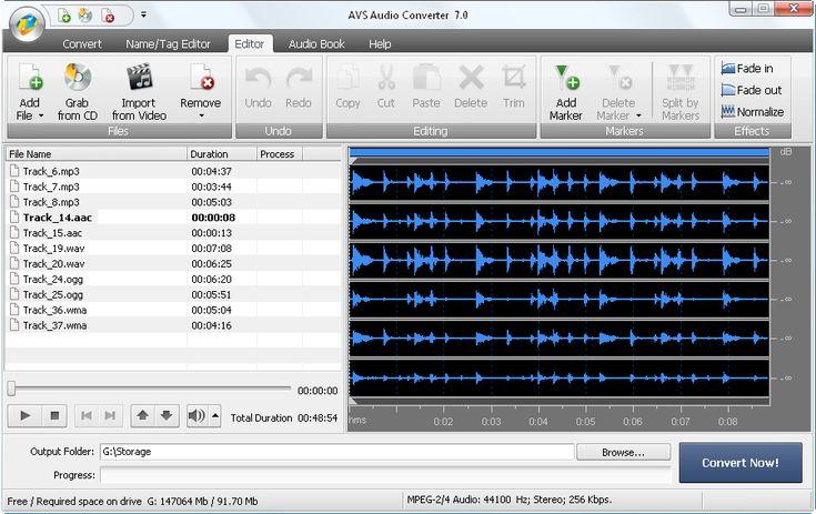 AVS Audio Converter. Convert audio files between any formats: MP3, WAV, FLAC, OGG, WMA, M4A, AAC, AC3 & more.