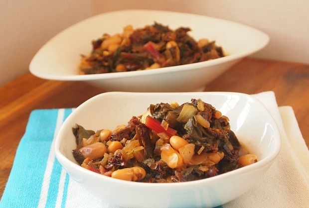 Swiss Chard and White Bean Stew - this dish gets better as it sits and waits for you to dig in.: Soups, White Beans, White Bean And Greens Stew, Bean Recipes, Chard, Comfortfood Kosherrecipes, Comfort Food, Soup Recipes