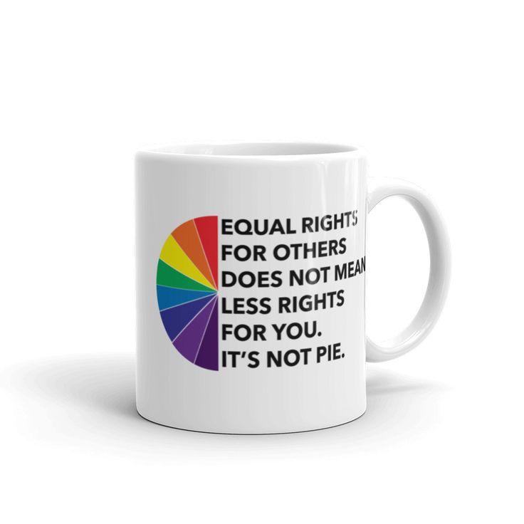 Equal Rights Pie Coffee Mug