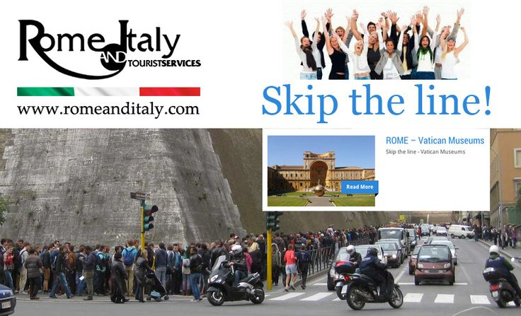 Skip the Line!  http://www.romeanditaly.com/package/musei-vaticani/