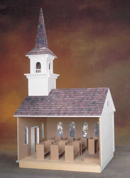 Country Church Dollhouse Kit Vermont Style Doll Houses