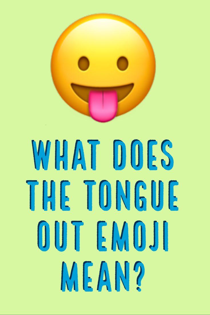 Tongue Out Emoji Tongue Out Emoji Emoji Emoji Language