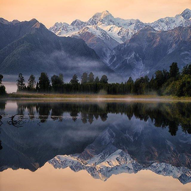 Mirror Lake - New Zealand in Winter