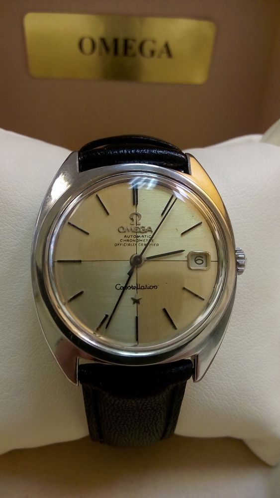 VINTAGE OMEGA CONSTELLATION AUTOMATIC  CALIBER 561 STEEL WATCH #Omega