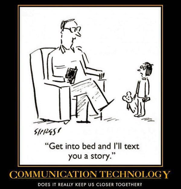 Technology that Changes Lives    #DanCamacho #Tech Haha! BUT JUST NOT THE SAME!!! you can't text in different voices for different characters!!:)