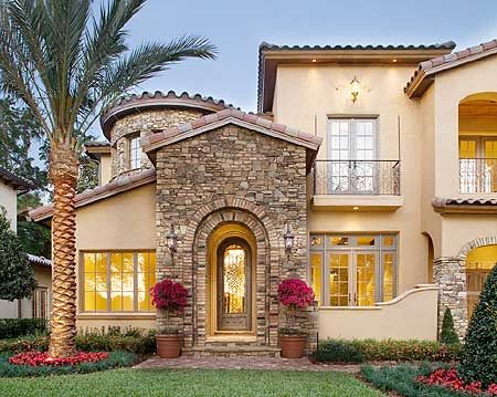 58 best exterior tuscan spanish mediterranean images for Colorado style house plans