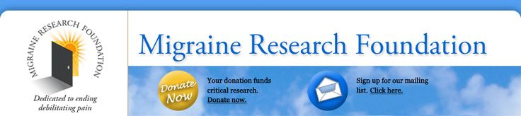 """Migraine in children - """"Migraine has been reported in children as young as 18 months."""" - Migraine Research Foundation"""