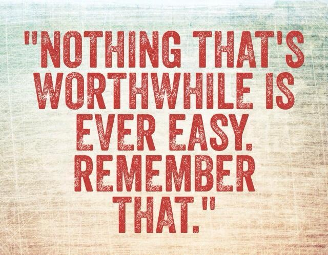 """▪""""When was anything really worthwhile easy?"""" –Richard G. Scott ▪""""If something is worth achieving, it's worth an all-out effort. The good things in life come to us as the result of time, energy, sacrifice, and even the risk of failure. Success requires a certain amount of toughness. It comes to people who aren't afraid of a challenge and some good, old fashioned HARD WORK."""" –Hal Urban (from his book 'Life's Greatest Lessons')"""