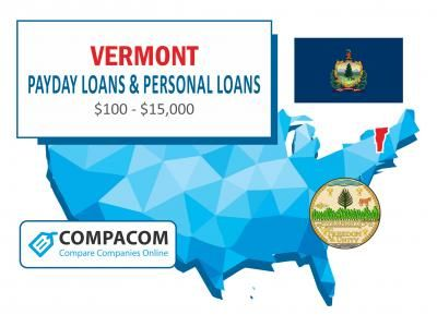 Compare Loans Bad Credit >> 100 1 000 Payday Loans In Vermont Available For Bad Credit