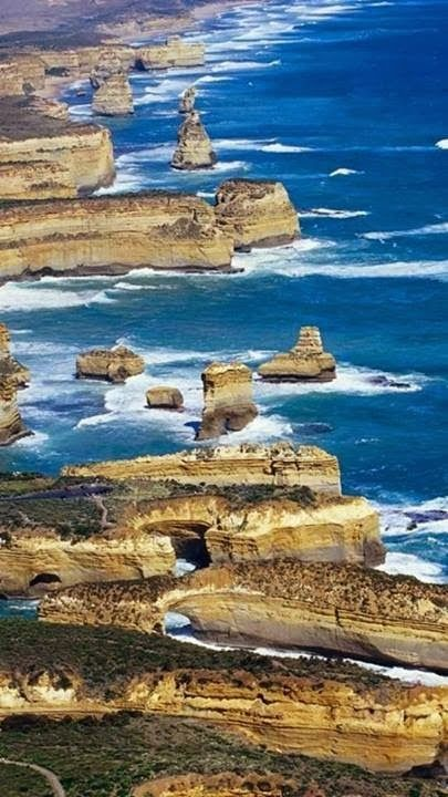 Shipwreck Coast of Victoria, Australia- stretches from Cape Otway to Port Fairy