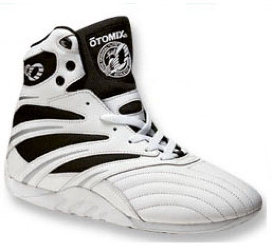 Optomix is often the mistaken name for these Gym shoes.  It's actually Otomix shoes and The Extreme Pro model incorporates a low profile flexible and sturdy sole so you can feel the floor. Remember, don't call them Optomix by mistake.  It's Otomix. http://www.bestforminc.com/products/workout_clothes_store_golds_gym_world_powerhouse_pitbull/otomix.cfm/optomix-otomix-shoes-gym-shoes-pro-trainers