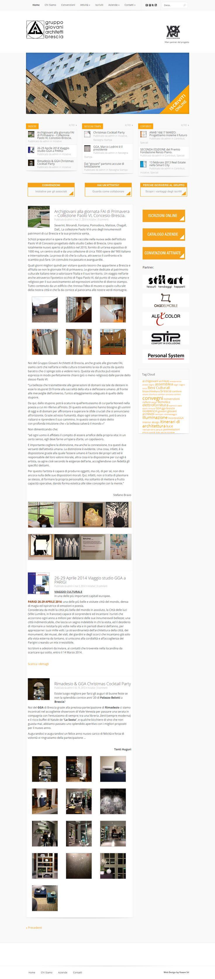 Sito web realizzato da VoxArt www.archigiovani.brescia.it