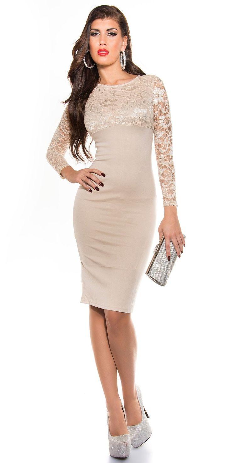 #vestido rendado na parte superior www.pontorosa.pt