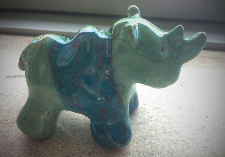 Keramik næsehorn