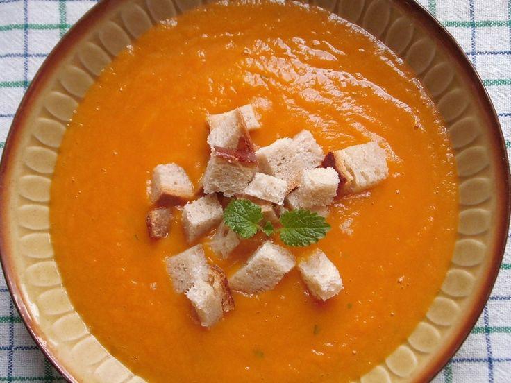 Zupa krem z batatów
