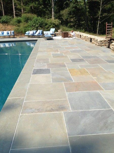 Pennsylvania Bluestone Natural Cleft Full Color Patio