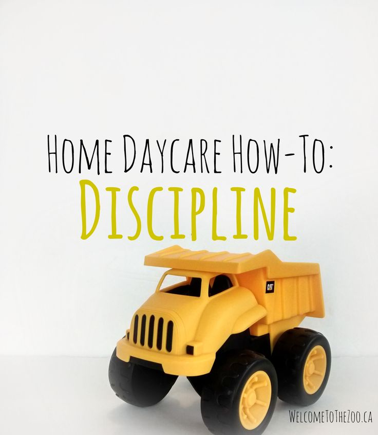 Great tips for when behaviour gets out of hand in home daycare.  Also includes how to know when to terminate care.