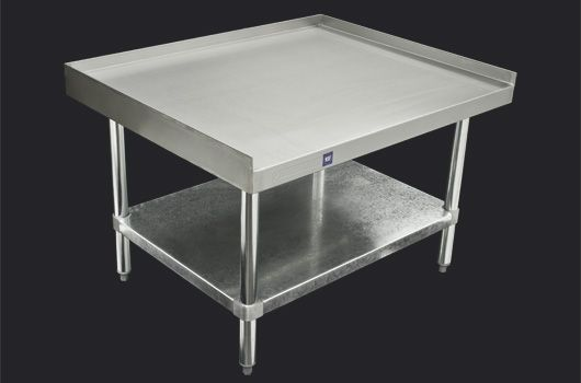 """Stainless Steel equipment stand.  Model: DSTAND-2436. Available in 24"""" and 30"""" depths."""