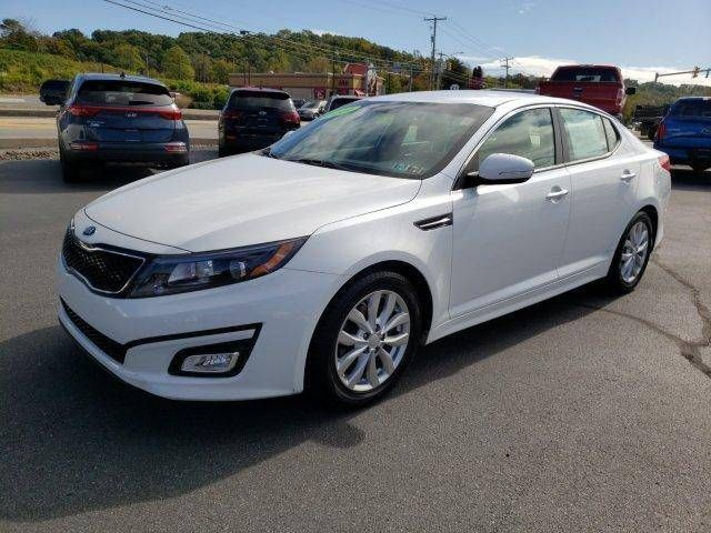 Description This Nice Family Sedan Is Easy On The Eyes Beige Leather 2015 Kia Optima Ex 2 4l I4 Dgi Dohc Snow White Pearl 6 Kia Optima Kia Best Family Cars