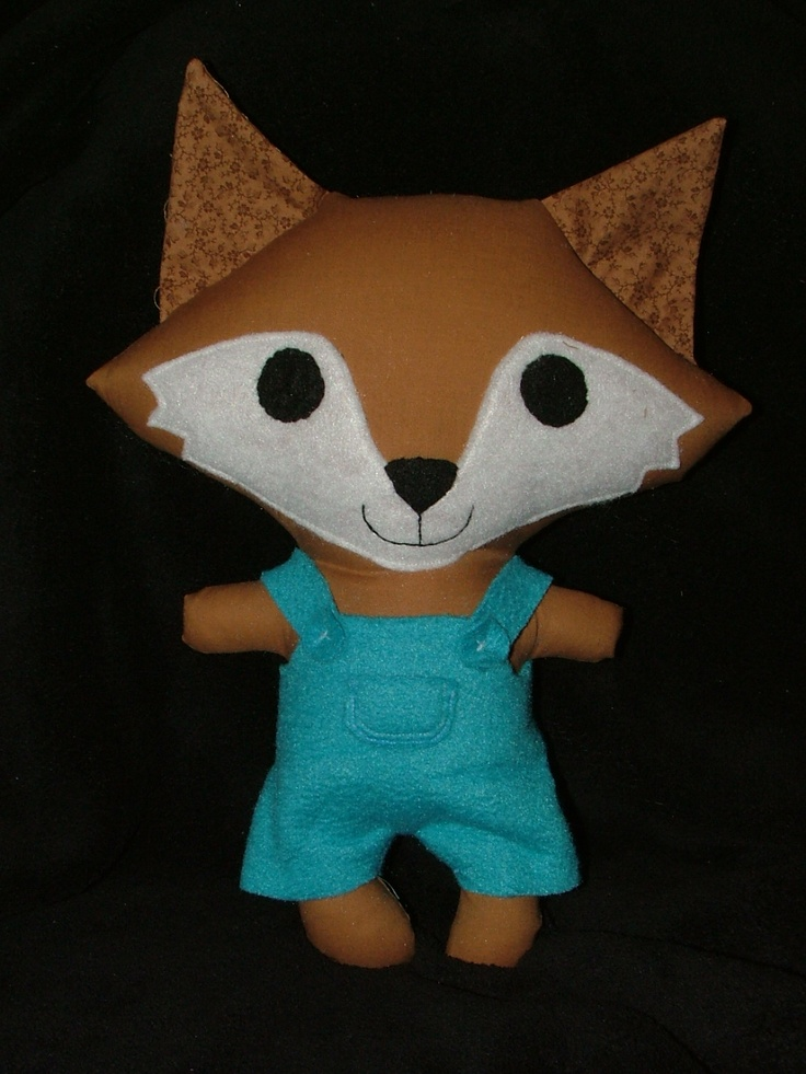 such a cute fox!  Made using a new funkyfriendsfactory pattern.  All her patterns are wonderful