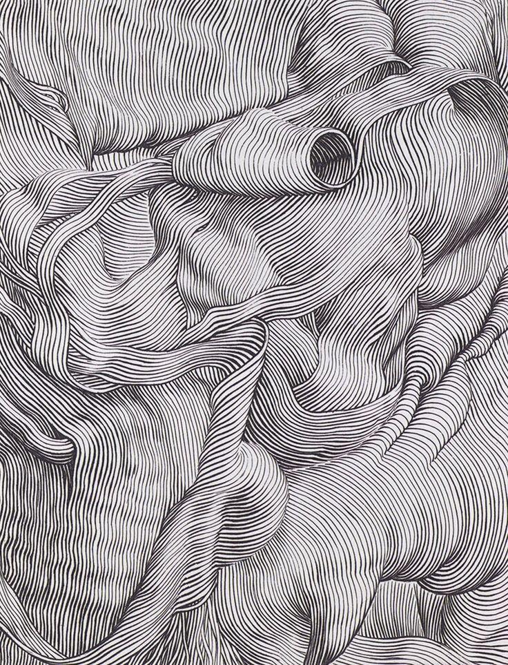 Штрихи карандашом картинки