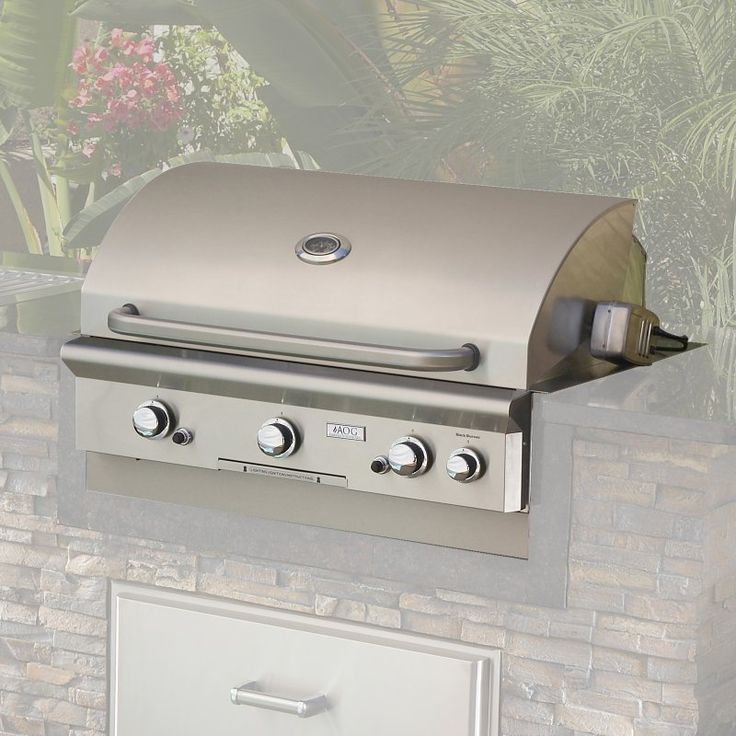 American Outdoor Grill 36 Inch Built-In Gas Grill - 36NBL-OOSP