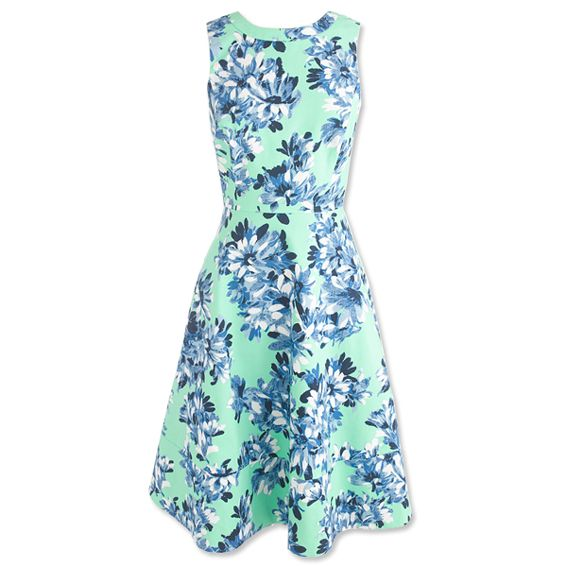 Kentucky Derby Fashion: 13 Pretty Picks - J. Crew Dress from #InStyle
