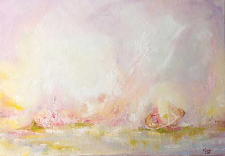 """Beyond my comprehension"". 70x100cm, oil on canvas, 2015."