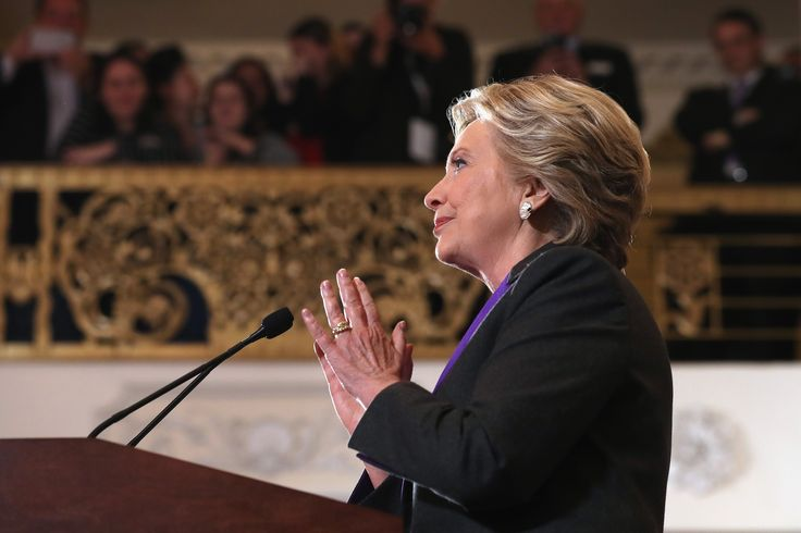Hillary Clinton's Message To Little Girls In Her Concession Speech Said It All