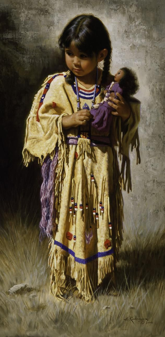 30 NATIVES AMERICAN PAINT - The Shy One.