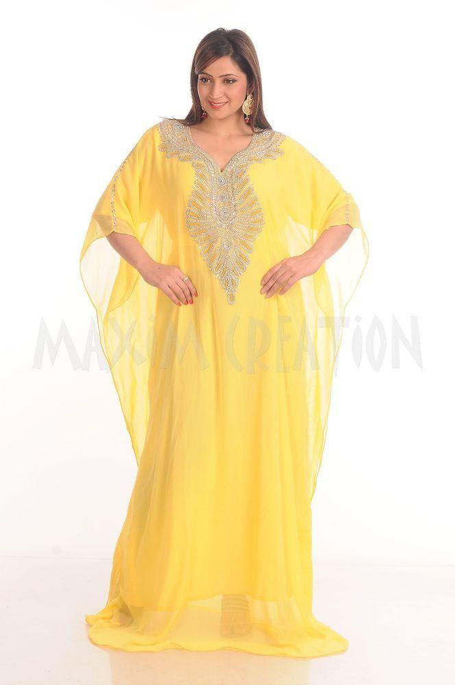 Farasha Dubai Kaftan Ladies Maxi Kim Kardashian Style Maxi Abaya Jilbab 4823 #MaximCreation #Farasha #Casual