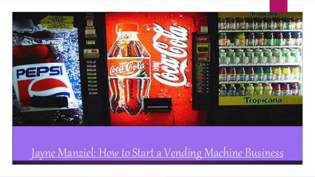 how to start a vending machine business in maryland