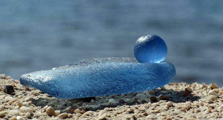 piccolo blu germano reale... sea glass