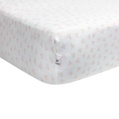Product Image for Burt's Bees Baby® Honeybee 100% Organic Cotton Fitted Crib Sheet 1 out of 2