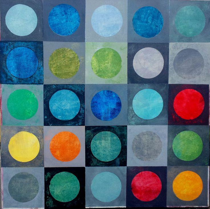 Roelie van Heerden. Abstract. 1m x 1m.