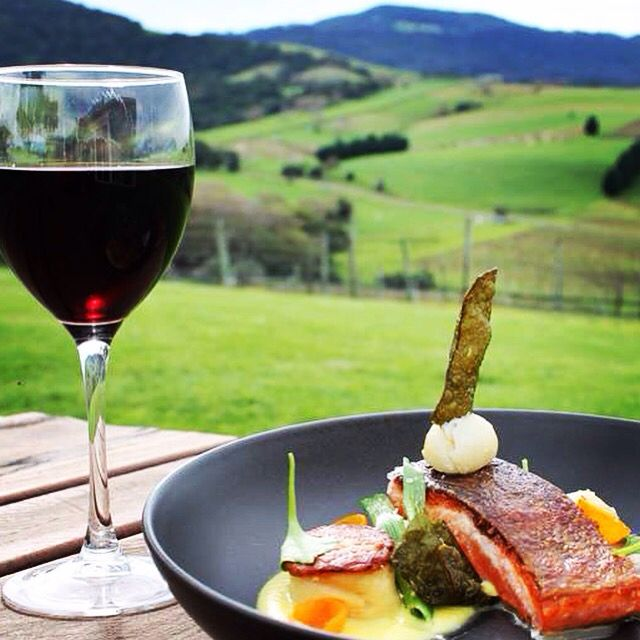 Delicious food and Crooked River Wines, NSW South Coast Wedding Destination