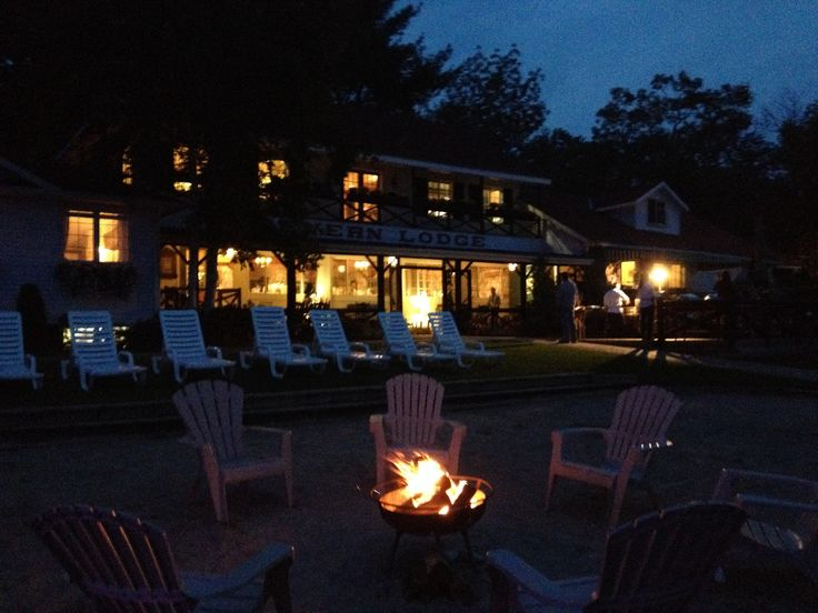Severn Lodge, in Port Severn Ontario. Beautiful rustic lodge with a stunning view and amazing food.