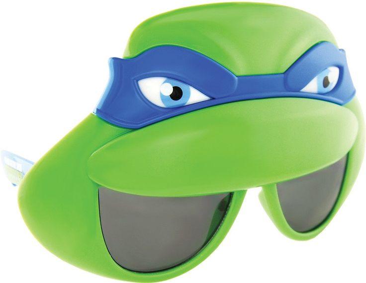Costume Accessory: Sunstache Teenage Mutant Ninja Turtles Leonardo Glasses - 1 Units