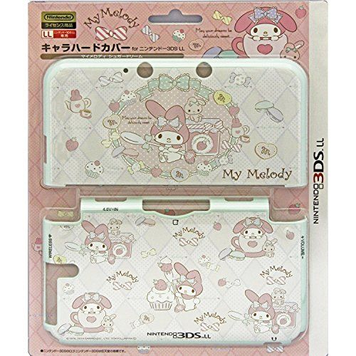 nice Nintendo Official Kawaii 3DS XL Hard Cover -MY MELODY Sugar Dream-  ・Nintendo official licensed product. ・This polycarbonate case will protect your device from scratches and dirt even during playing the game. ・Pr... http://gameclone.com.au/accessories/screen-protectors/nintendo-official-kawaii-3ds-xl-hard-cover-my-melody-sugar-dream/