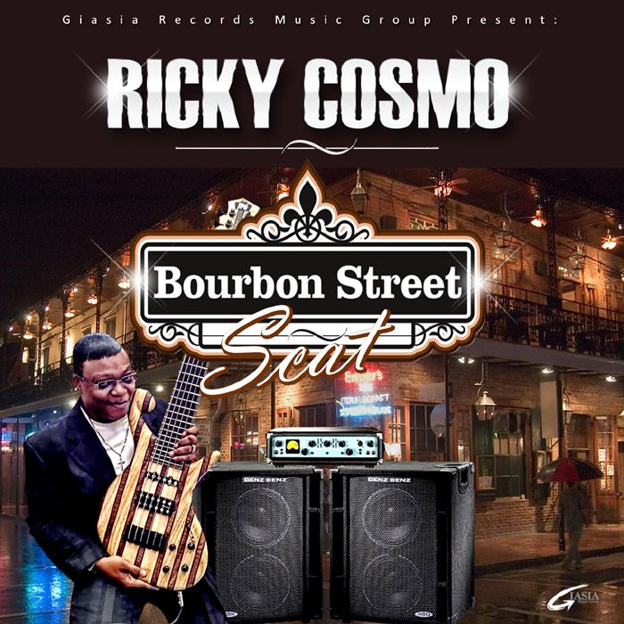 """Giasia Records Present: Ricky Cosmo with the new single """"Bourbon Street Sact"""" download it on iTunes."""