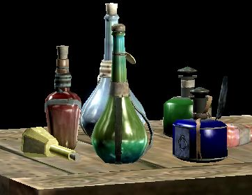 List of Skyrim potions and their effects.