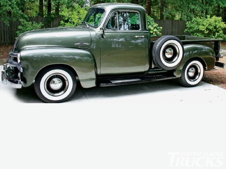 1955 Chevy 3100 Pickup Truck Spare Tire