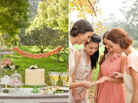 A Bridesmaids Brunch For {MAG} rouge