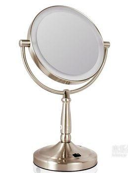 "Mecor 7 "" de aumento 7x led espejo, maquillaje espejo con luces, espejo de escritorio con enchufe"