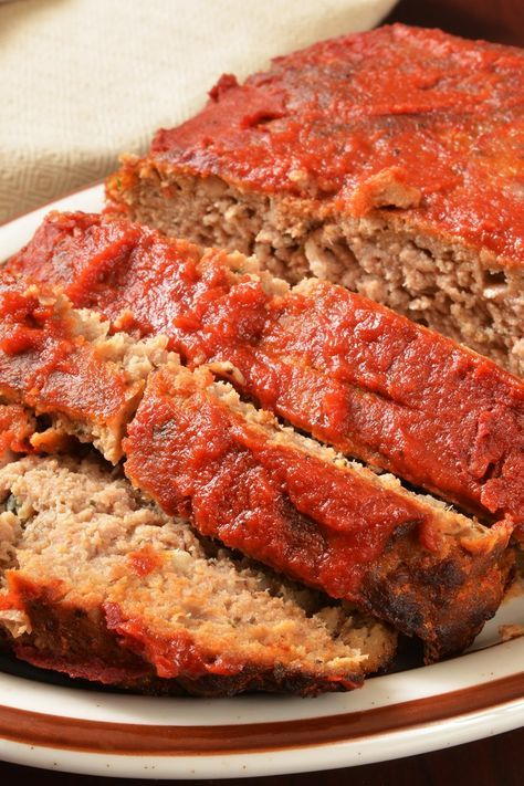 Old Fashioned Meatloaf Recipe In 2019 Easy Meals Meatloaf