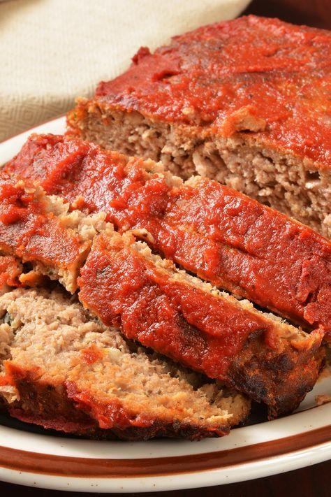 Old Fashioned Meatloaf Recipe In 2019 Easy Meals Meatloaf