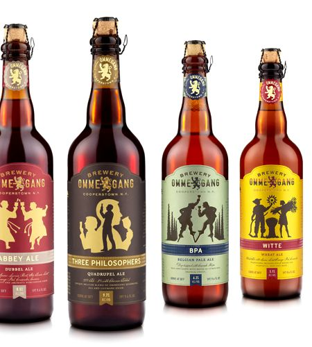 Ommegang is killin' it with their new bottle insignia . . .